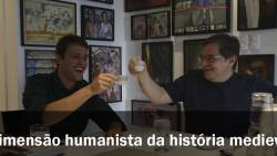 """Diálogo """"A Dimensão humanista da história medieval Parte I"""" Profs.Victor Pinheiro e Ricardo da Costa"""