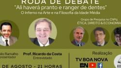 Roda de Debate com o Prof Ricardo da Costa - O Inferno na Arte e na Filosofia da Idade Média